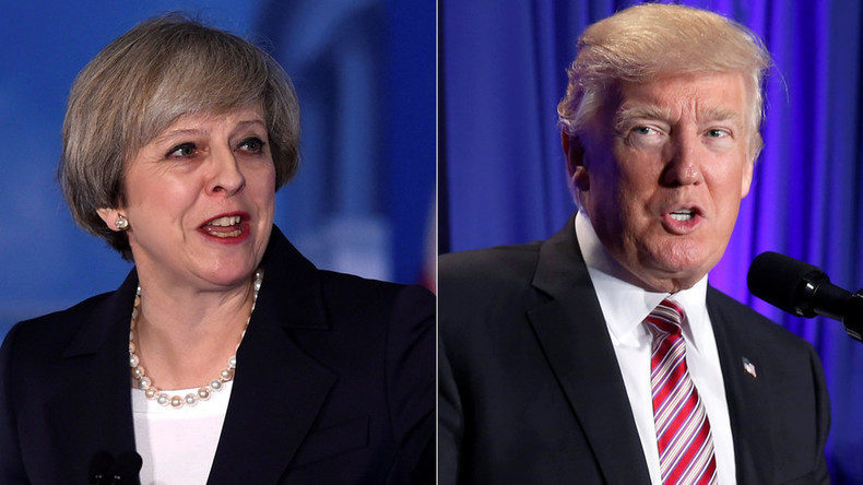 UK promises to abide by EU laws during May trade talks with Trump