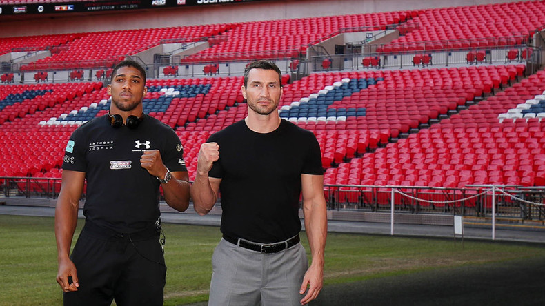 90,000 at Wembley: Joshua v Klitschko fight to match UK boxing crowd record