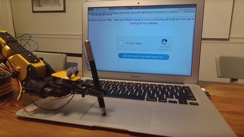 CAPTCHA gotcha: Robot fools computer into thinking it's human (VIDEO)