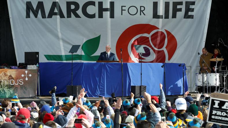 Trump White House endorses anti-abortion march