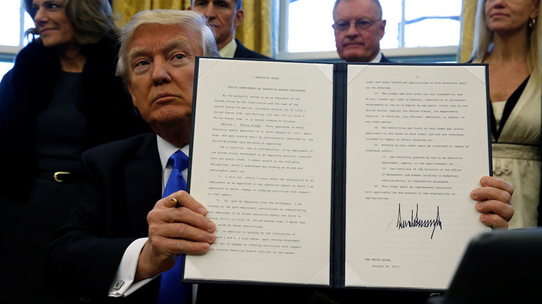 Trump imposes lifetime ban on foreign govt lobbying for appointees