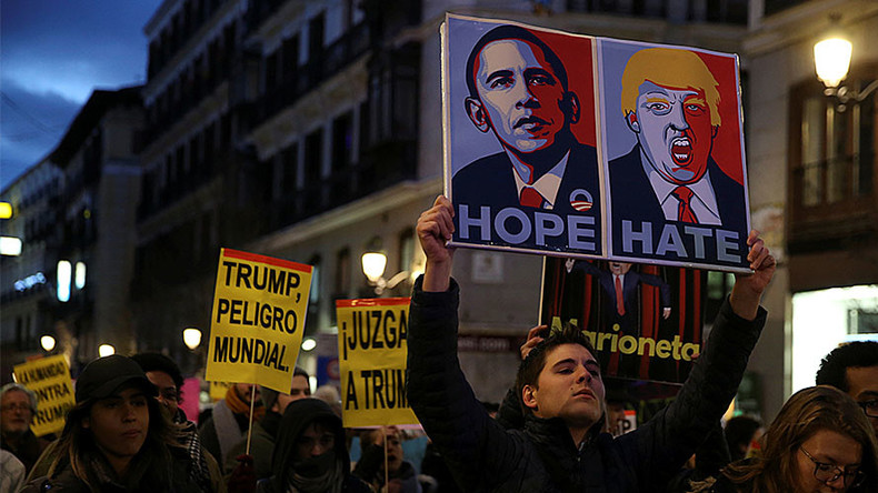 Madrid mayor hints at Trump-Hitler parallels