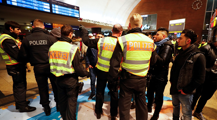 Cologne police screen hundreds of North Africans at main train station