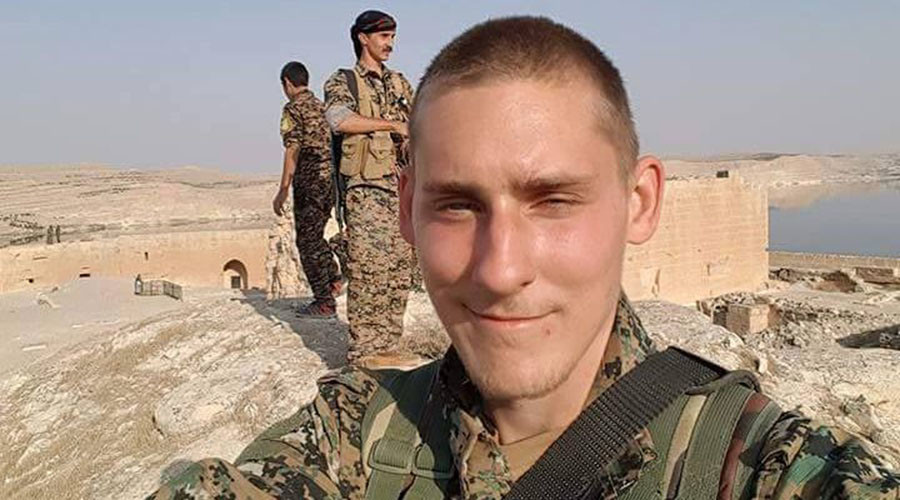 Briton killed in Syria while fighting ISIS alongside Kurdish YPG