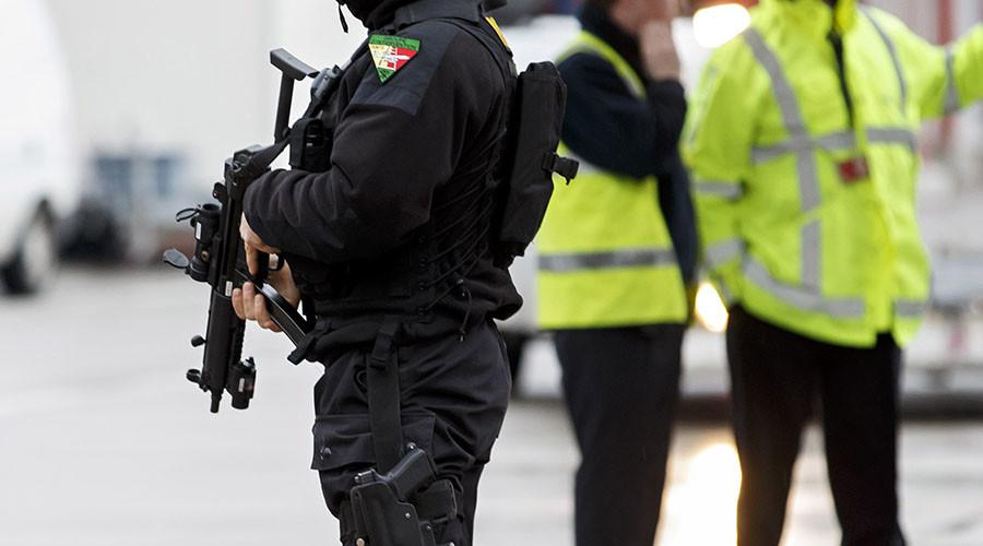 Armed & 'dangerous' gunman located in Switzerland after shooting 2 policemen