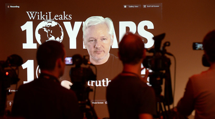 Guardian 'fake news' story on Julian Assange 'punishment for his inconvenient truth-telling'