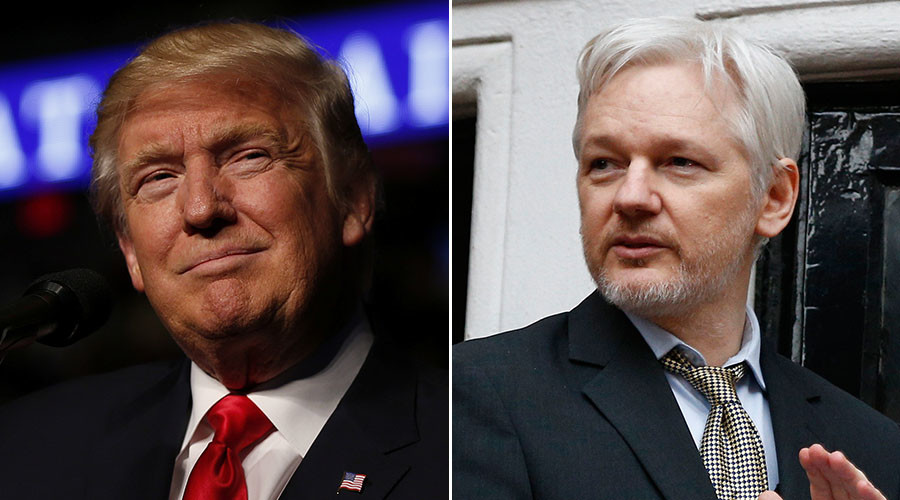 Trump backs Assange on Russian hacking claims, blasts DNC 'carelessness'