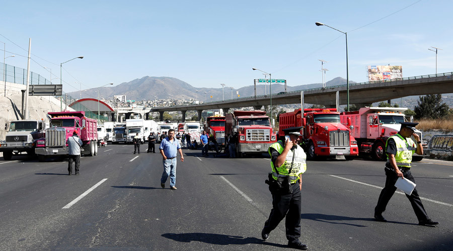 Protests & looting across Mexico amid sudden 20% fuel price hike