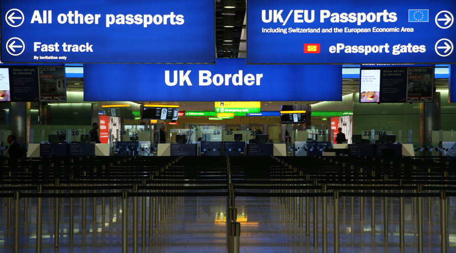 UK borders breached by Afghan murderer and Syrian refugee using fake passport