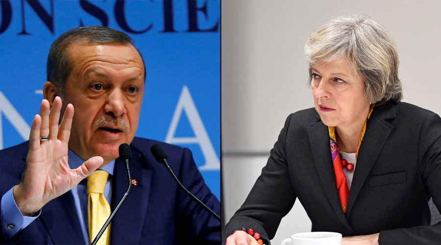 PM May prepares for difficult Erdogan mission
