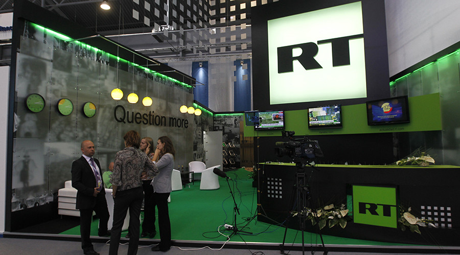 American spies would prefer if RT didn't report the news, thank you very much