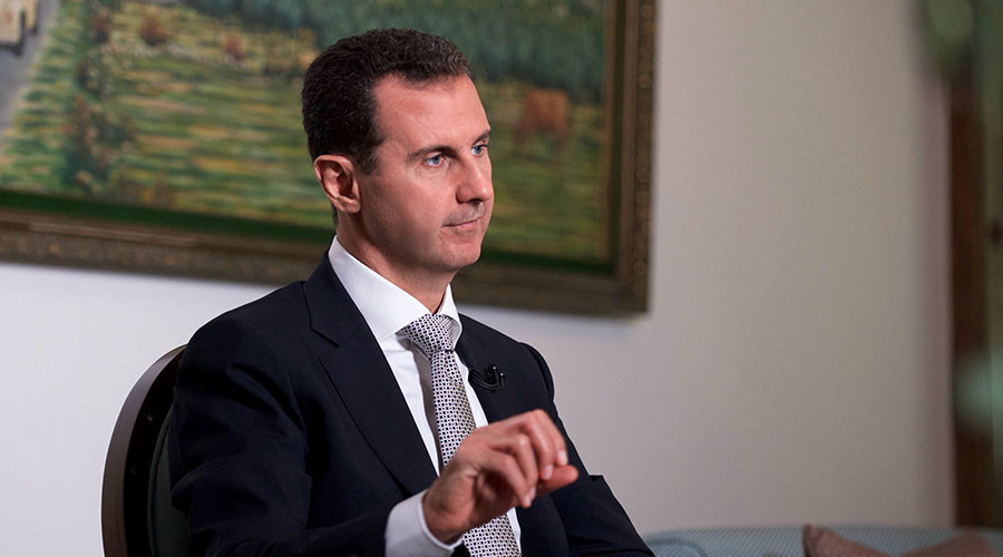 Assad on Syria peace talks: 'We're ready to discuss anything, but who will be on other side?'