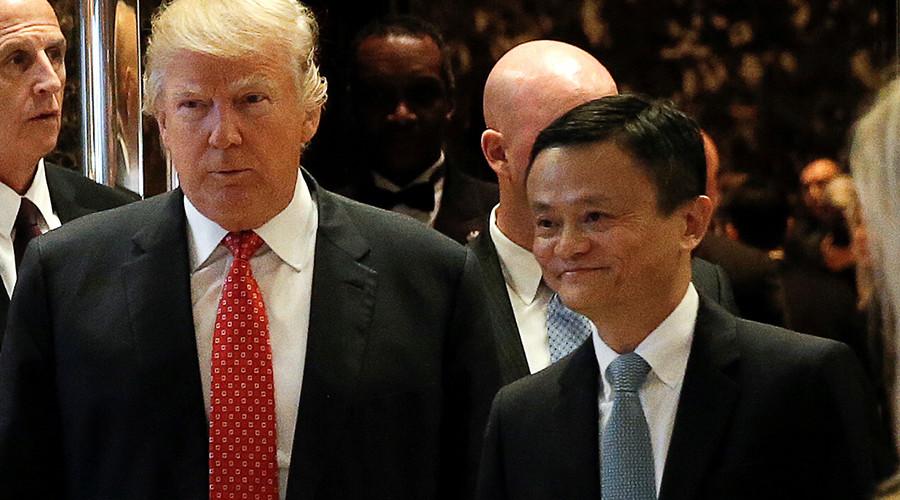 Open Sesame? Trump & Alibaba CEO Jack Ma talk of creating 1mn US jobs
