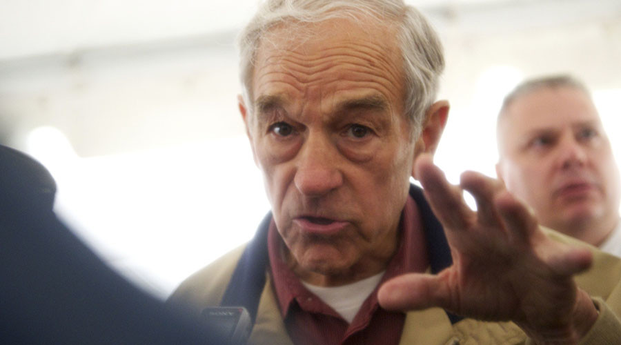 'Some Americans upset they lost the election and now they're political grandstanding' – Ron Paul