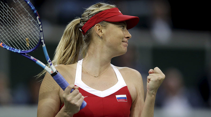 'Couldn't be happier': Maria Sharapova will be back April 26