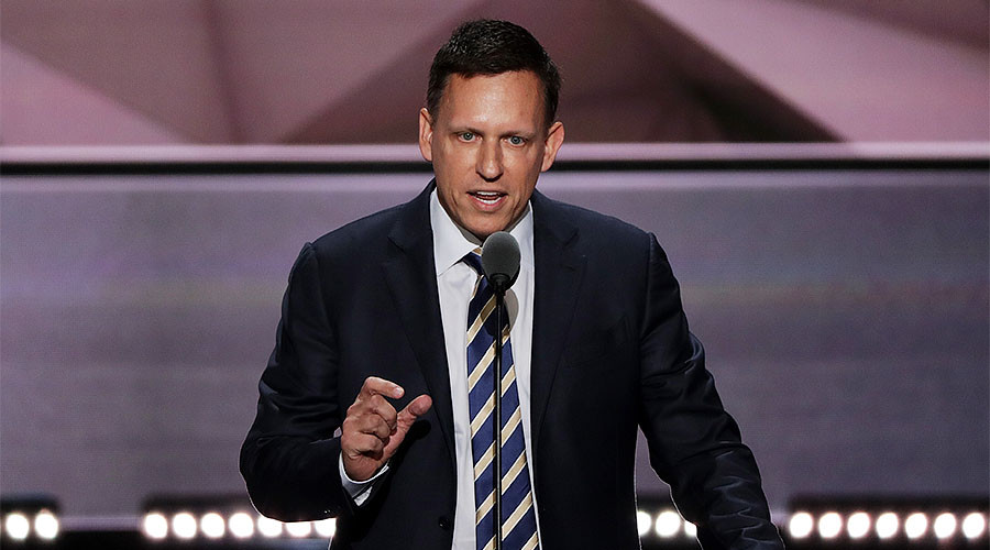 Age of Apple is over, says Peter Thiel