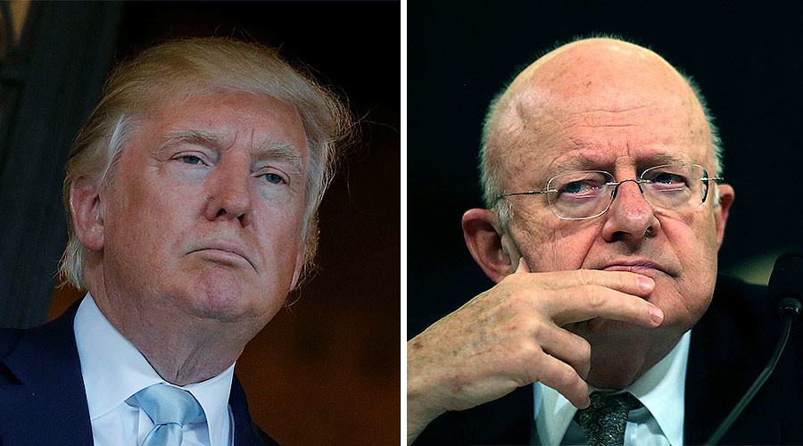 'Profound dismay': DNI Clapper meets with Trump over 'unverified' dossier leak
