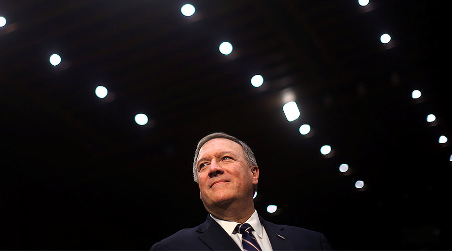 Blackout delays CIA nominee Pompeo's confirmation hearing