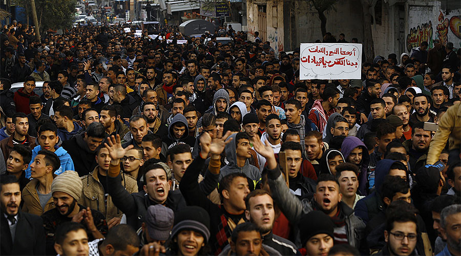 Hamas disperses protesters as 1,000s decry Gaza's deepening energy crisis