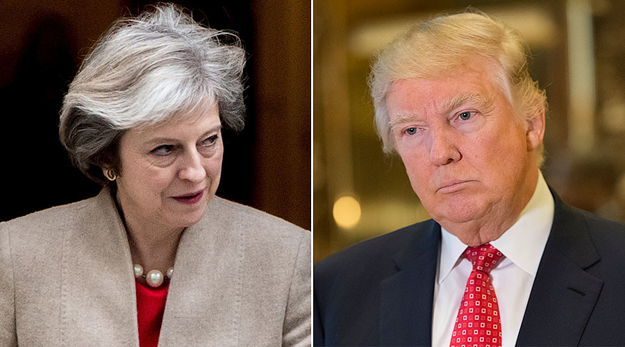Theresa May says Trump dossier spy Christopher Steele 'hasn't worked for UK for years'
