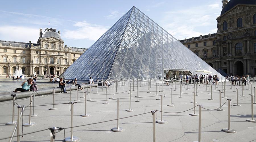 'Free the Louvre': Climate art activists target Parisian museum over oil money ties