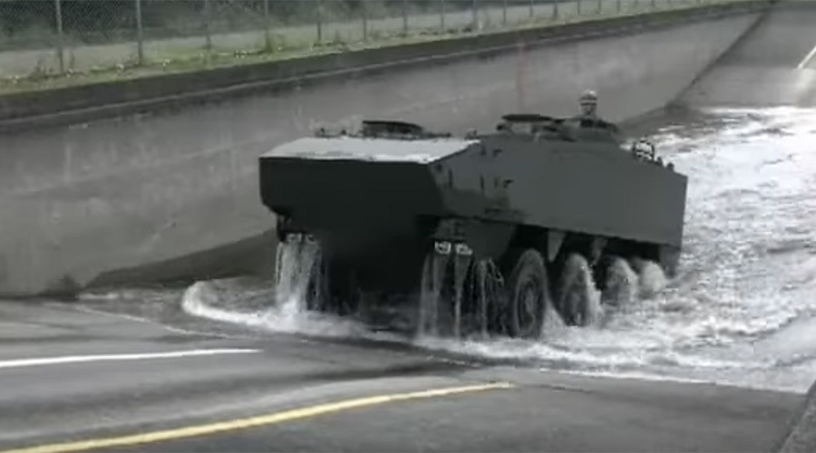 Japan shows off new armored personnel carrier prototype