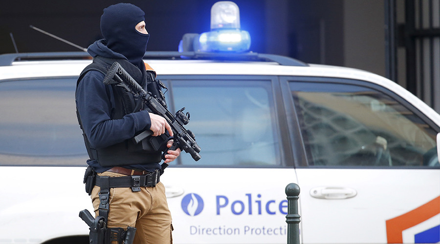 Belgian police release 3 people detained in Brussels anti-terror raid – prosecutor's office