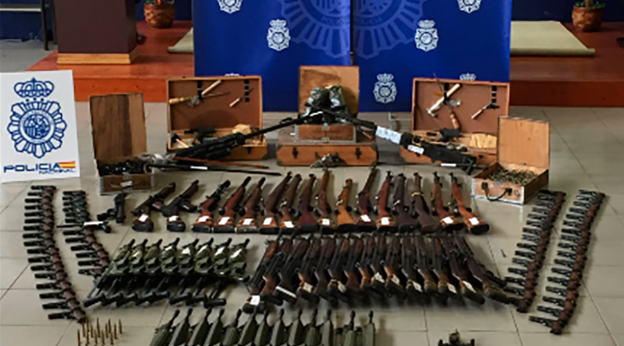 'Capable of shooting down aircraft': Spanish police seize €10mn worth of black market weapons