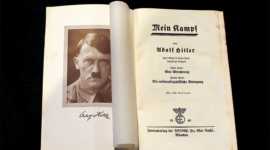 'We should be concerned about new release of Hitler's Mein Kampf in Germany'