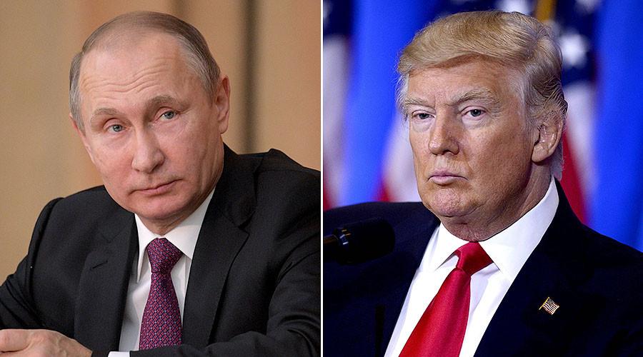 'Worse than prostitutes': Putin slams those behind Trump 'leak'