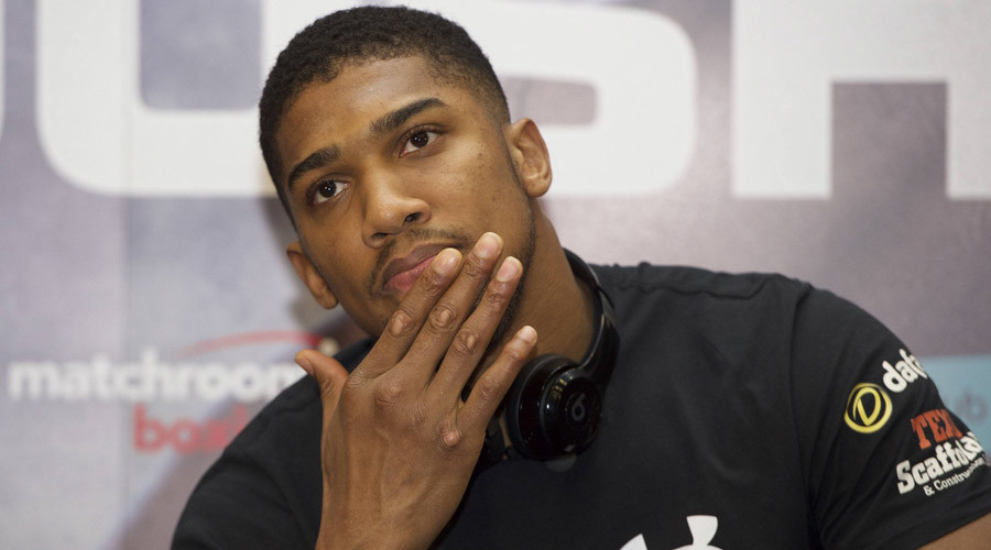 Boxer Anthony Joshua target of vile troll abuse after posting picture of mosque prayers