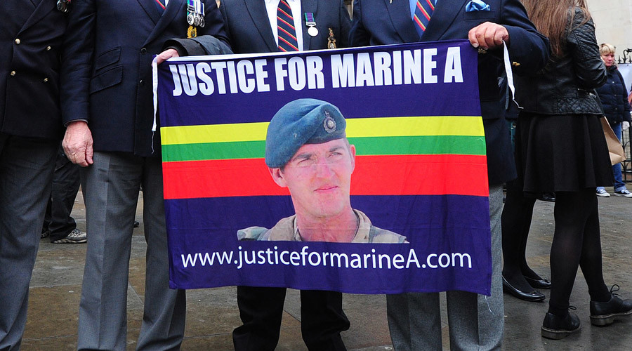 Video of Royal Marine executing wounded Afghan must not be published, MoD tells court