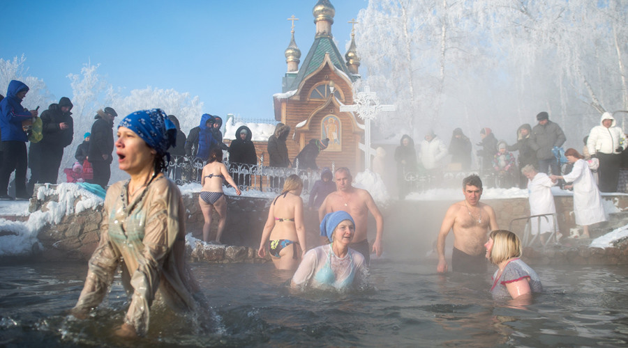 The Epiphany as celebrated by Russians