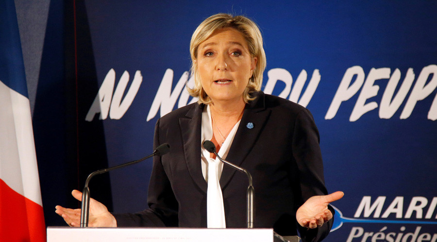 Marine Le Pen is now leading among French voters – poll