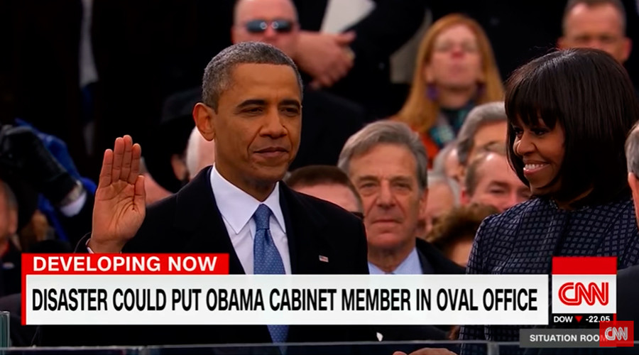 Wishful thinking: CNN dwells on possibility Obama official might take over if Trump is killed