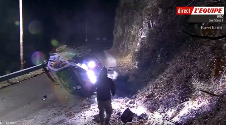 Spectator killed in accident at Monte Carlo World Rally Championship event (GRAPHIC VIDEO)