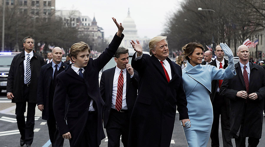 Trump's inauguration & protests take over Washington, DC