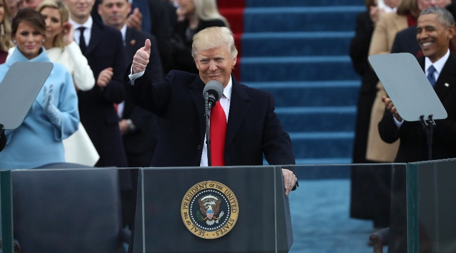 Trump's speech 'declaration of war against political establishment'
