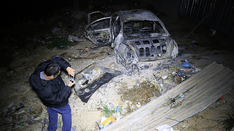 Car bomb rocks Tripoli near Italian embassy, 2 dead (VIDEO)