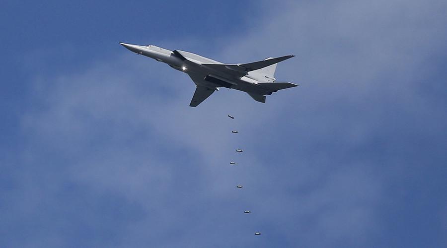 Russian long-range bombers hit ISIS targets near Deir ez-Zor, Syria