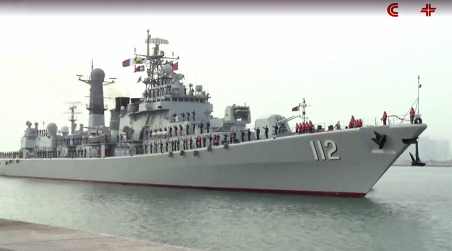Warship diplomacy: Chinese fleet tours Gulf in bid to build ties