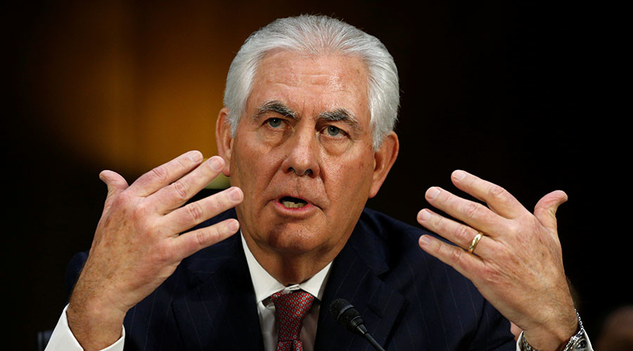 Senate confirms Rex Tillerson for US secretary of state