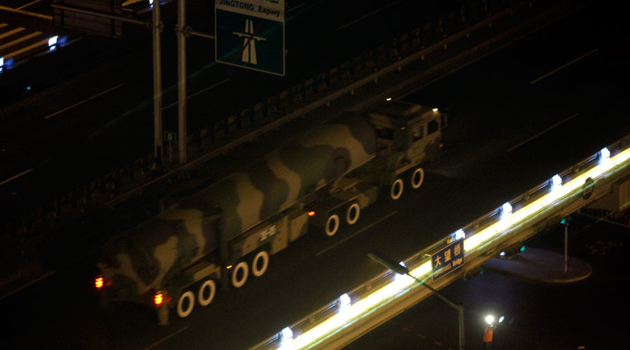 China reportedly deploys ICBMs near Russia's border