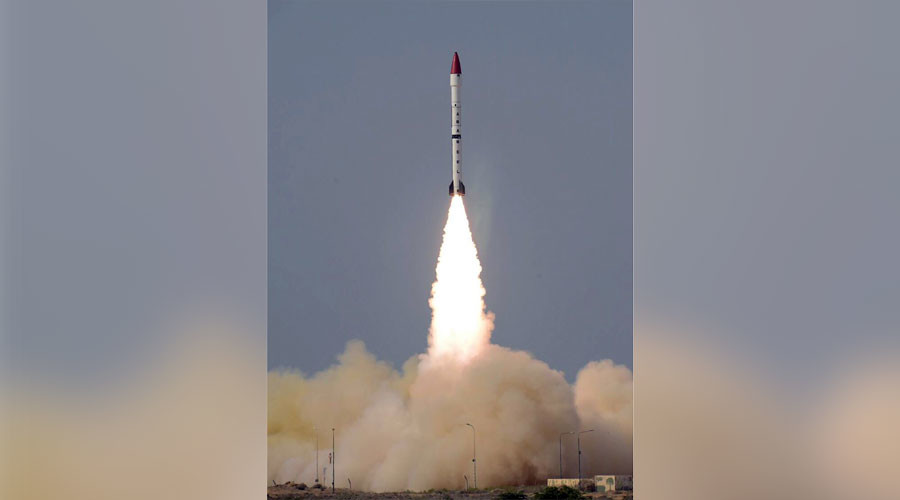 Pakistan conducts 1st test of 'Ababeel' nuclear-capable surface-to-surface missile