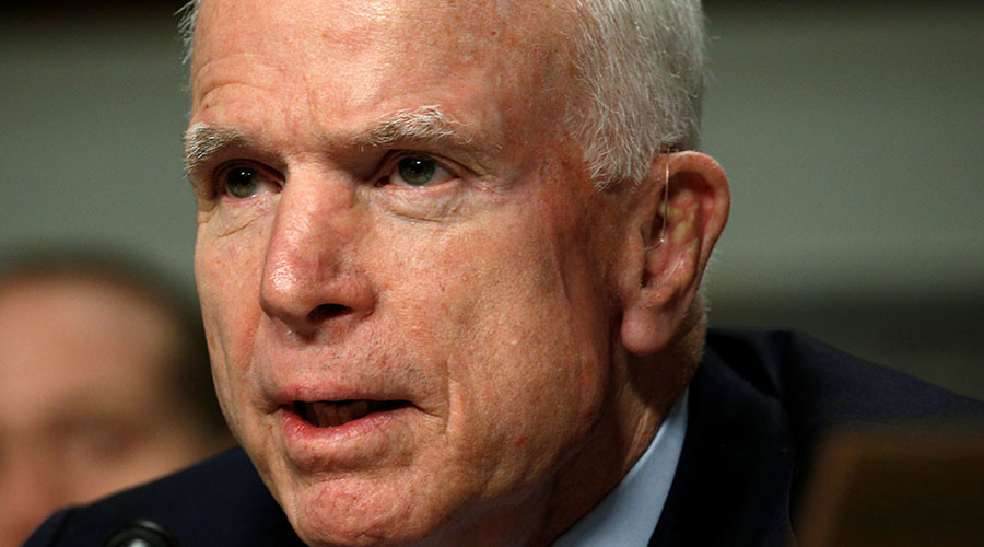 Base closures on the table, dodging issue 'cowardly' – Sen. McCain