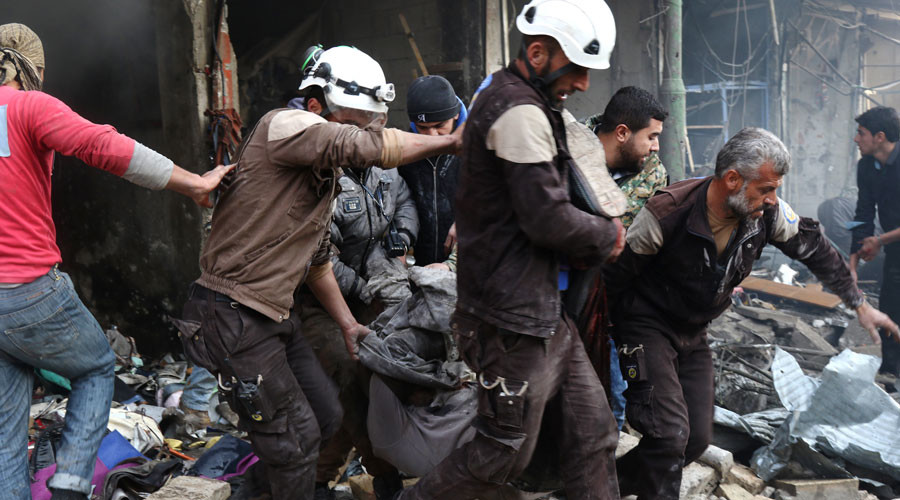 'Oscar-nominated film on Syrian White Helmets deserves best propaganda award instead'