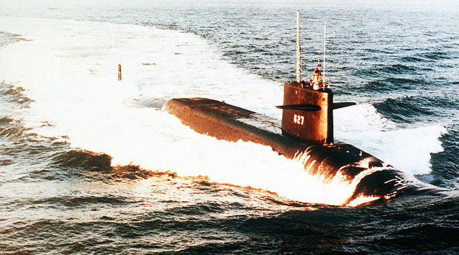 CIA files: US & Soviet nuclear sub crash off Scotland 'could have sparked global war'