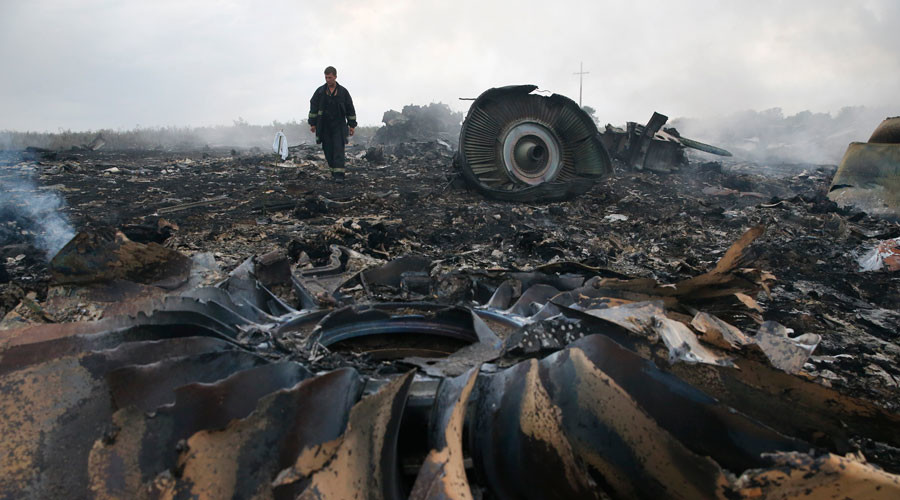 Further investigation possible at MH17 crash site after Dutch journalist recovers passenger's bone