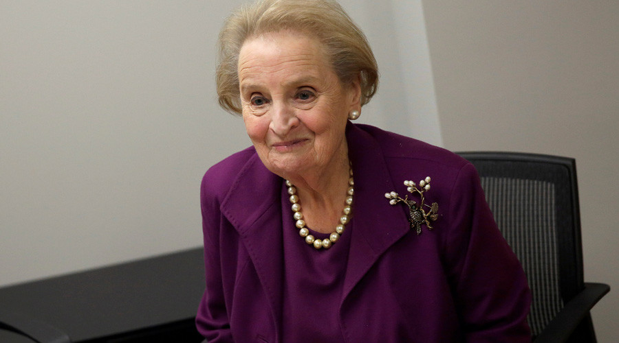 Madeleine Albright 'ready to become Muslim' to protest Trump's immigration policy