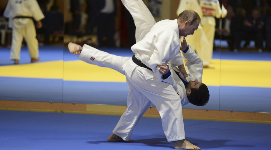 Putin to provide judo master class for Moscow students